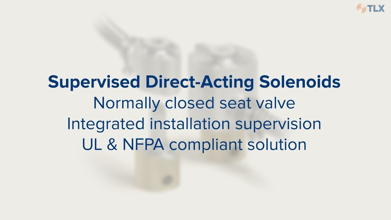 See how our supervised direct-acting solenoids work and learn about their special features.