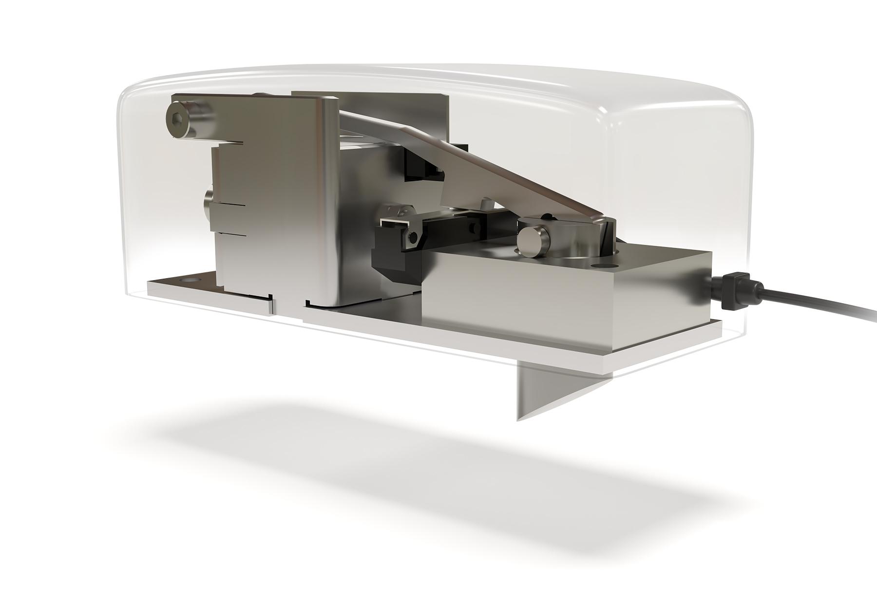 Low Profile Latching Solenoid Lock